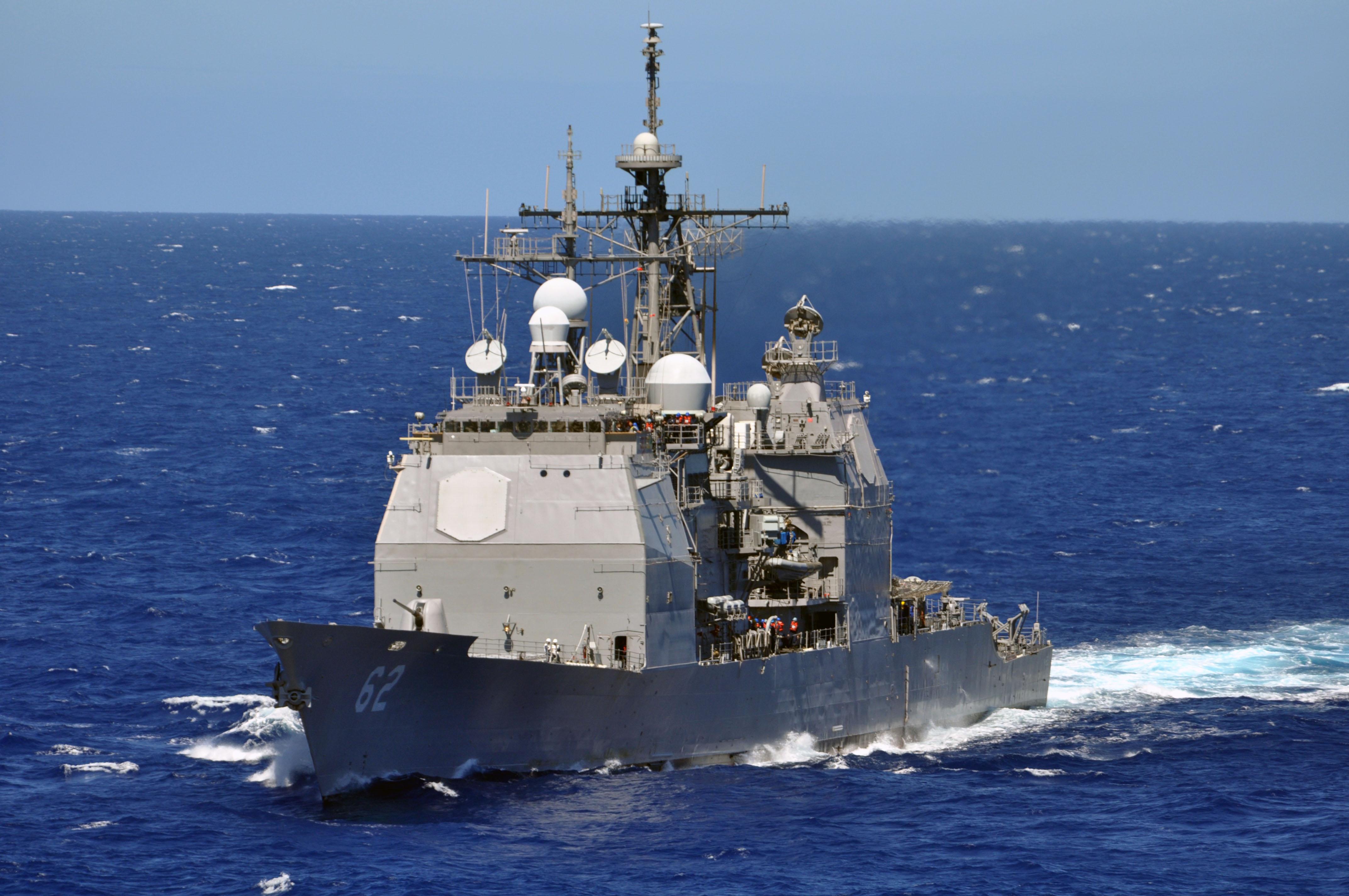 美国军舰擅闯我西沙领海 我军海空兵力警告驱离