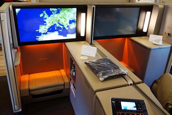 探秘东航A350奢华公务舱
