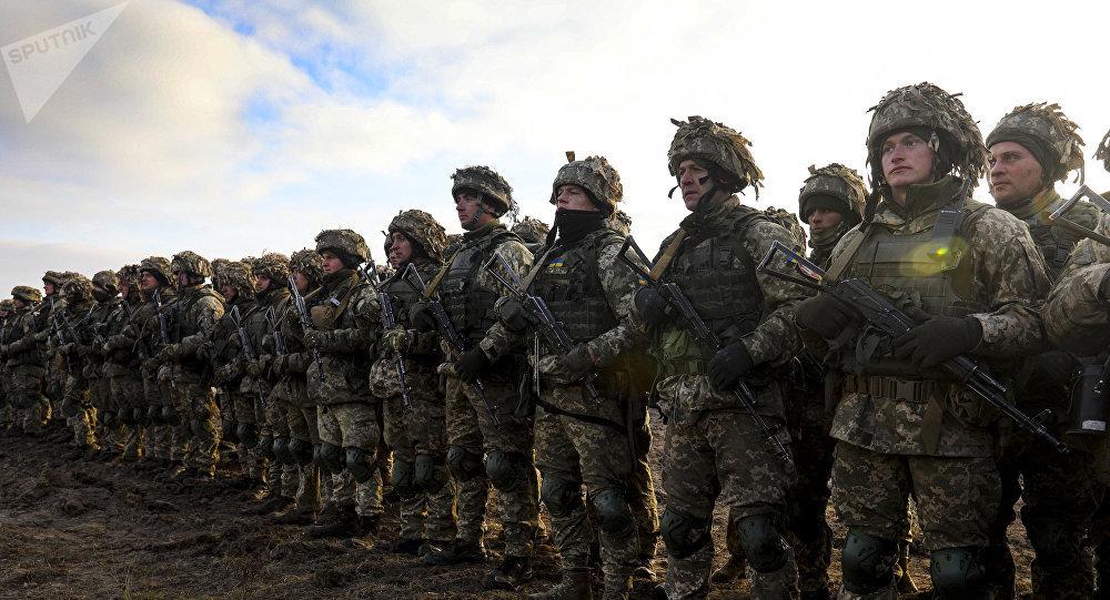 乌克兰在亚速海军演 练习应对敌战机低空突袭