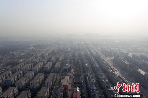 华北大部地区雾和霾来袭 西北地区有扬沙或浮尘