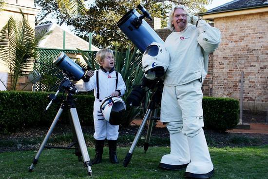 维珍银河CEO称圣诞节前可将首批宇航员送入太空