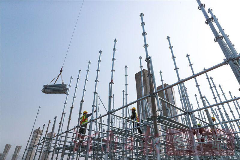 郑州市东四环快速化工程紧张施工