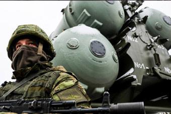 俄在克里米亚部署第4个S400导弹营 压制整个黑海
