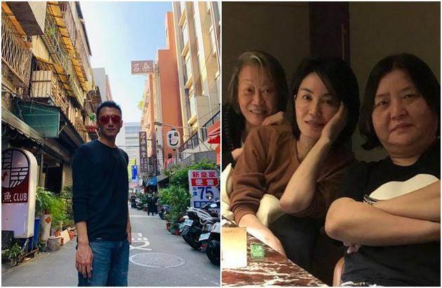 巧了!王菲现身台湾见好友 谢霆锋晒照也在台湾