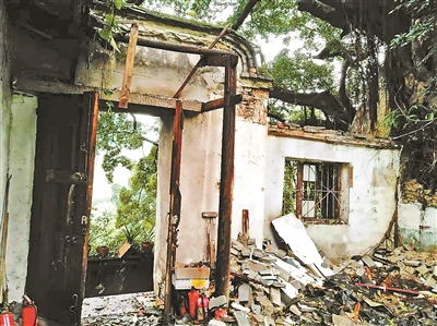 福州弥陀寺坍塌引发文保志愿者关注