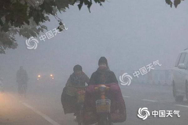中东部雾和霾将散 两股冷空气冷冻全国大部