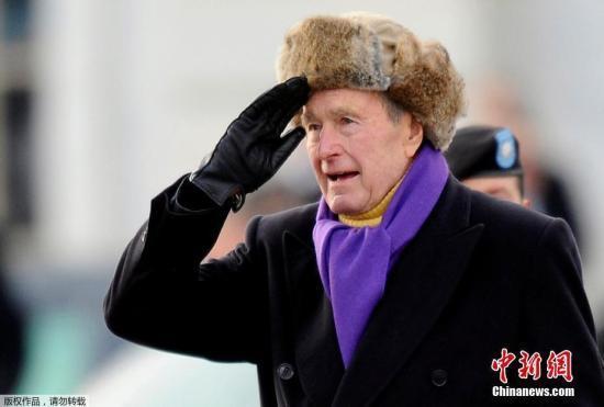 家人深情缅怀老布什:他是爱的化身 永远想