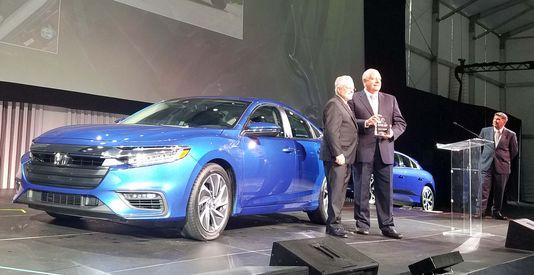 2019美国年度环保车发表 本田Insight等三款车夺冠