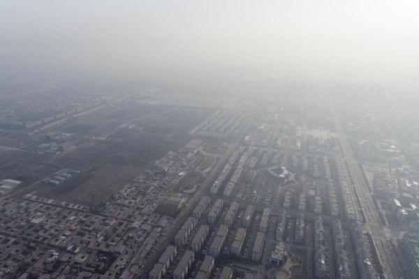 雾霾席卷全国!79个城市发布空气重污染预警