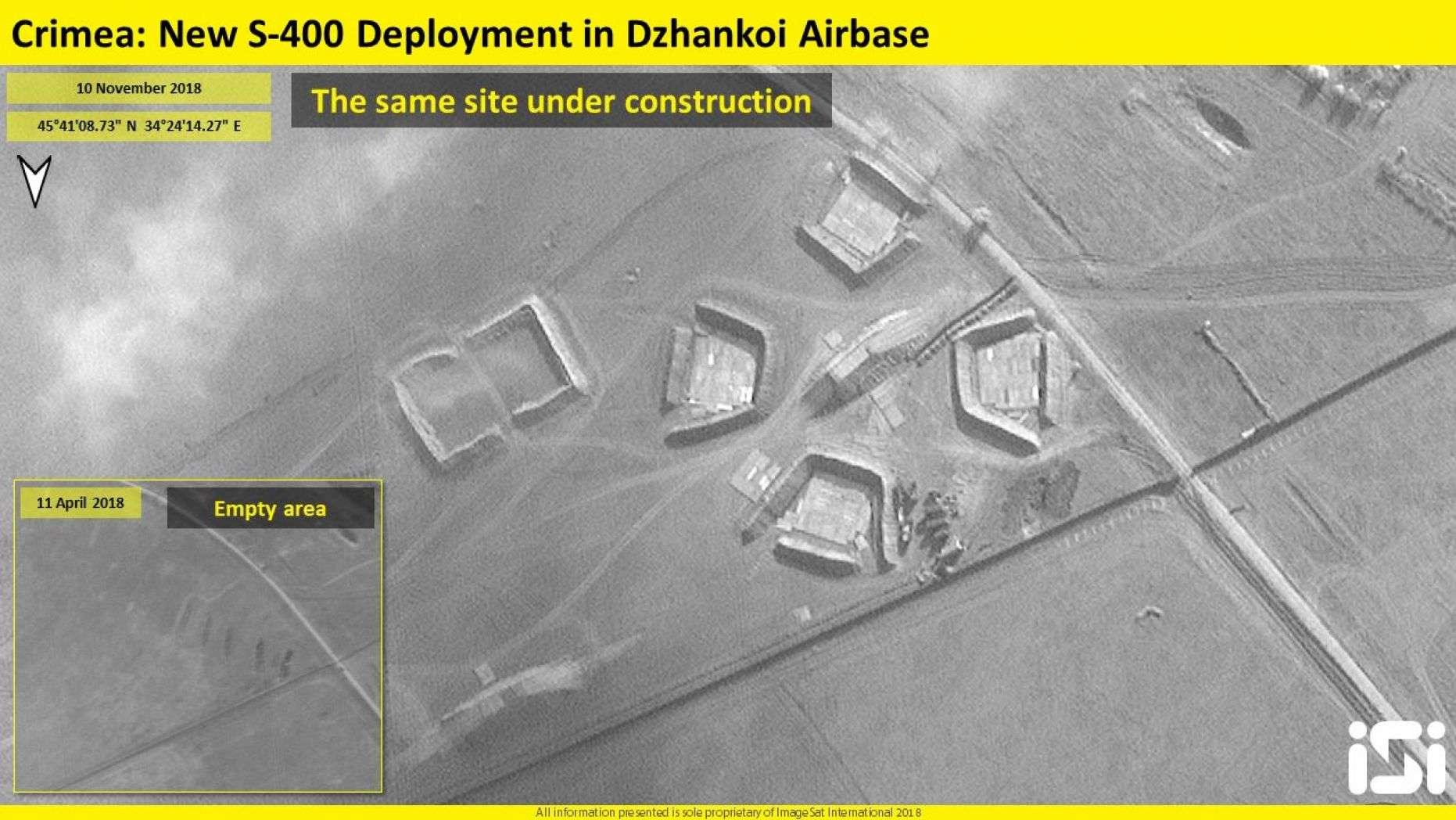 俄乌紧张形势升温 卫星照揭俄部署更多S400防空导弹