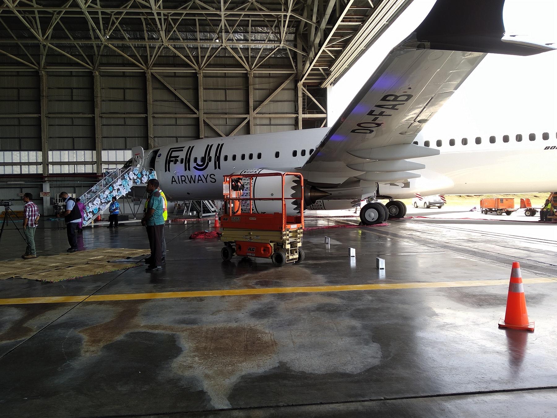 波音公司向斐济航空交付首架波音737 MAX 8飞机