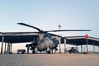 俄军直升机部队基地内部曝光