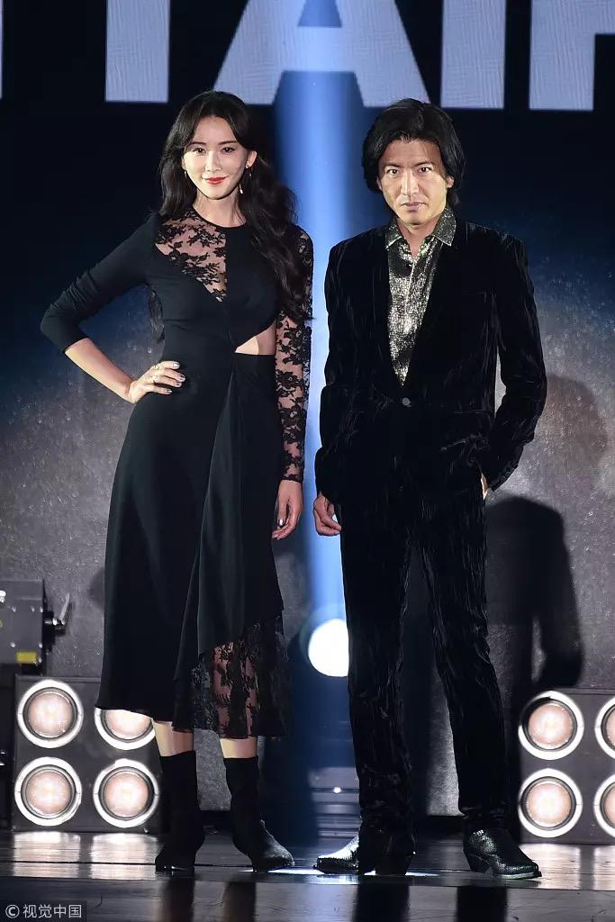 志玲姐姐和木村拓哉一起出席 2018亚洲时尚大典