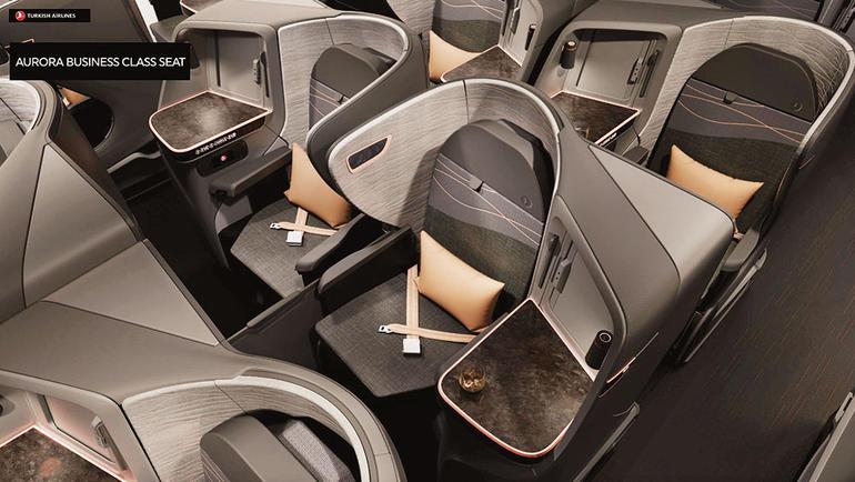 土耳其航空商务舱座席全面升级 新设计方案曝光