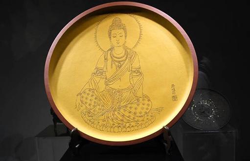 """""""文化复兴""""关宝琮陶瓷艺术展在上海中心举行"""