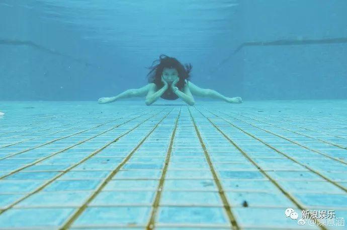 运动狂魔陈意涵怀孕 水下劈叉、马拉松、高难度瑜伽一个不能少