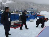 北京冬奥组委派团赴美高山滑雪世界杯实战学习
