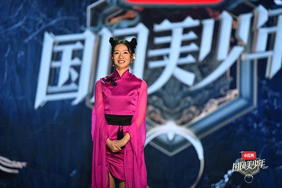 刘木子《国风美少年》首秀进黄金班