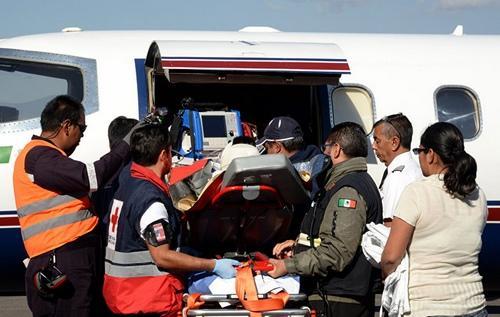 美国驻墨西哥大使馆建筑工地发生倒塌 致1死6伤