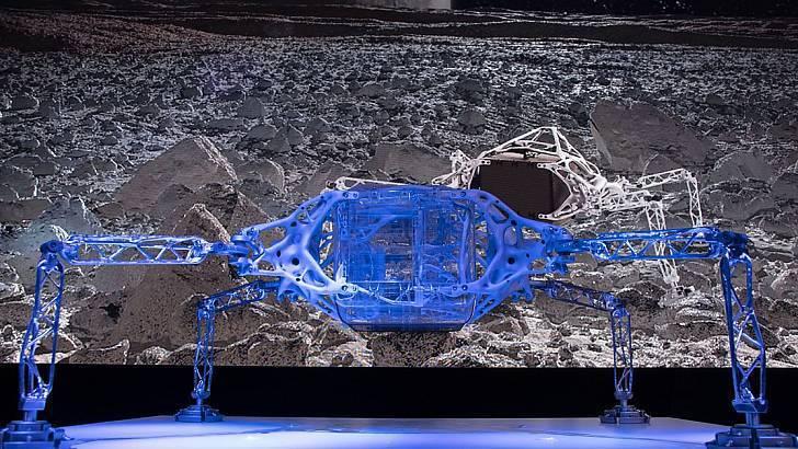并不是科幻电影道具,外形酷似蜘蛛的着陆器问世