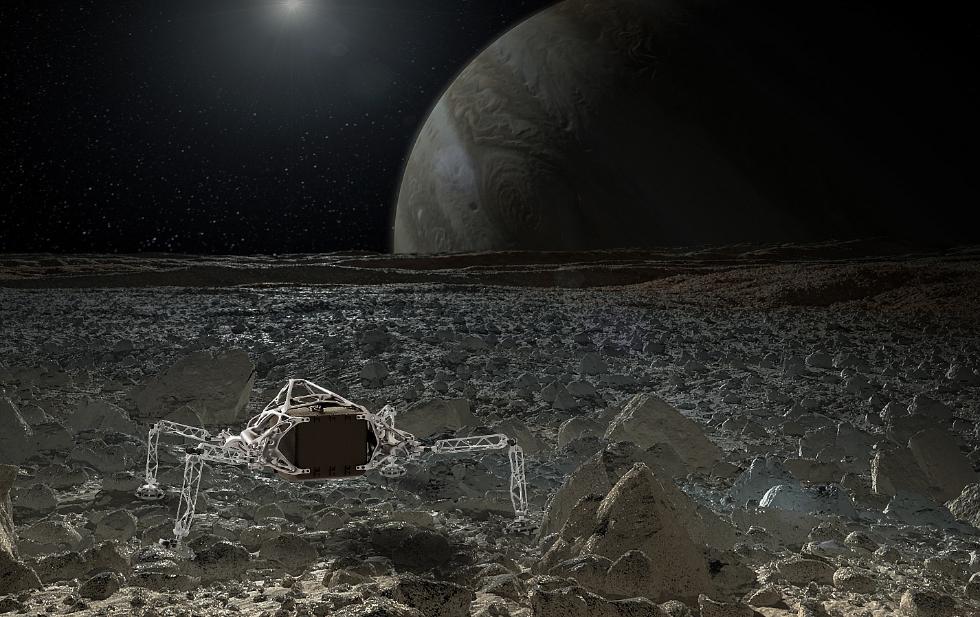 全新星际着陆器外形酷似蜘蛛 短期内无法进入太空