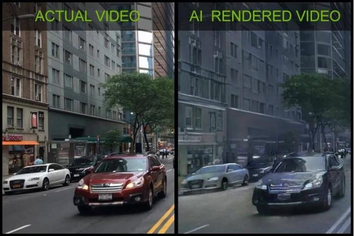 Nvidia使用AI生成图形创建首个视频游戏演示demo