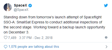 """SpaceX即将展开""""猎鹰9号""""火箭第三次回收任务"""