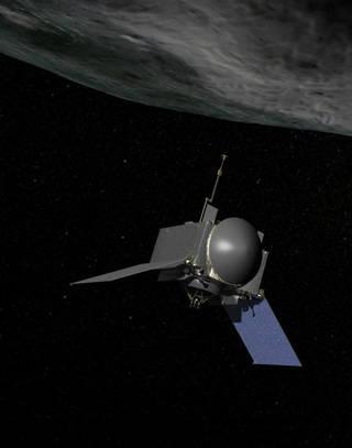 """探测器首访小行星""""贝努"""" 将采集岩石样本(图)"""