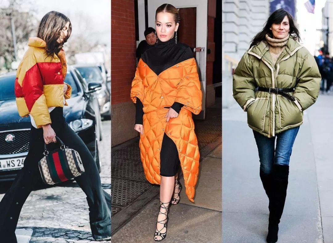 不会穿羽绒服别想混时尚圈 被佟丽娅倪妮马思纯种草了几十件羽绒服!