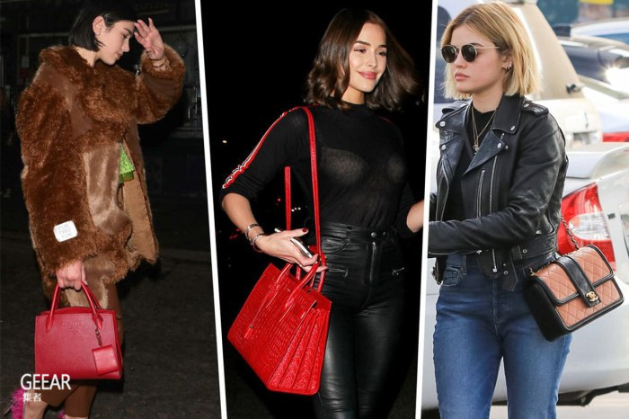12 月派对季来临,看看欧美女星们都背什么包包出街?