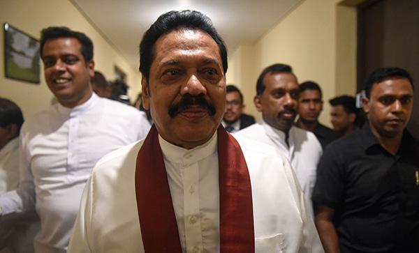 """斯里兰卡上诉法院裁决中止新总理职务,直至""""合法性被承认"""""""