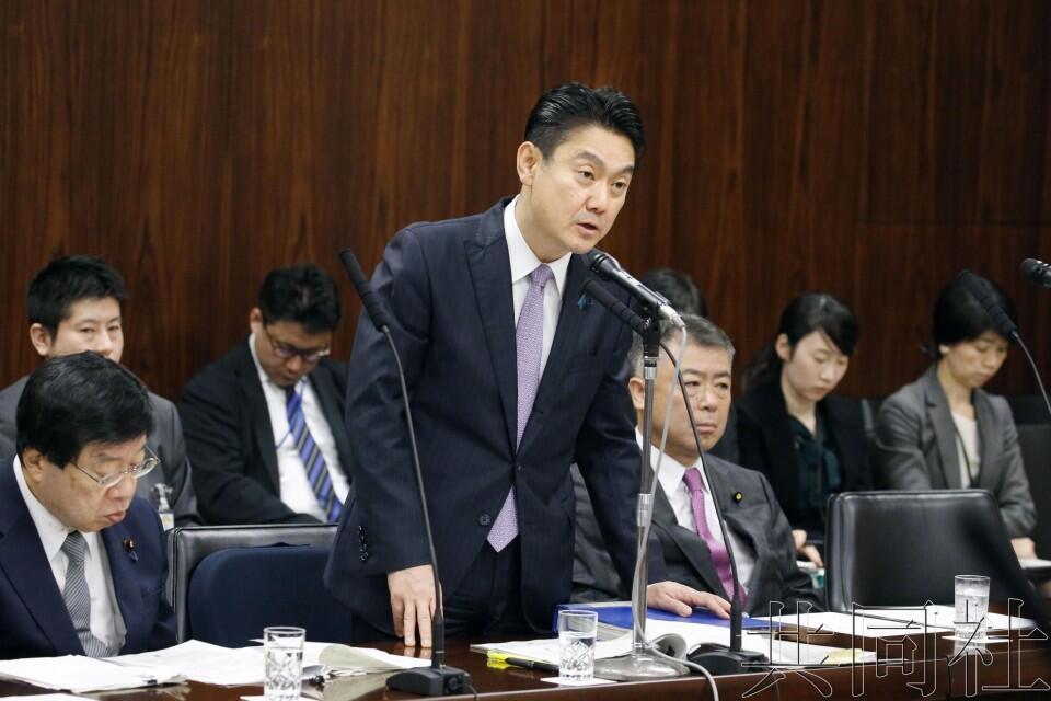 日本参院法务委审议《入管法》修正案 国民民主党介绍不同方案