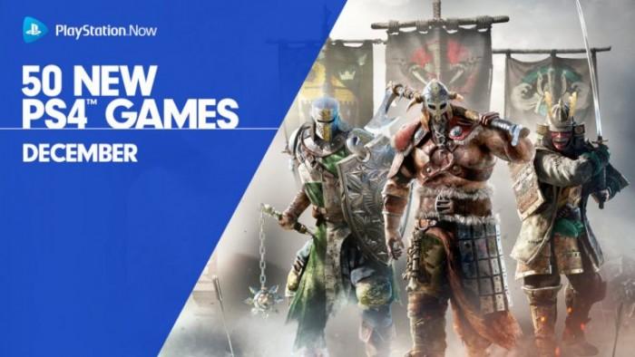《荣耀战魂》等50款PS4游戏本月加入PS Now