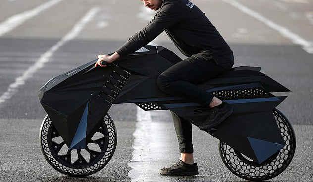 德国3D打印机企业研发全球第一款全3D打印托车摩