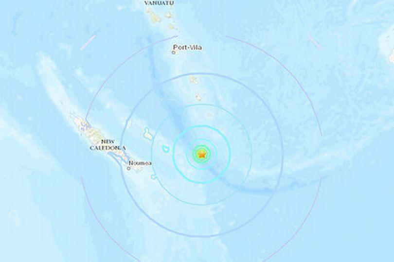 快讯!法属新喀里多尼亚附近发生7.6级地震 可能引发海啸