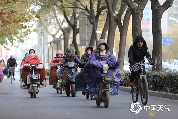 新一股冷空气冷冻全国 寒意直抵华南
