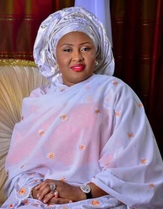 图为尼日利亚第一夫人阿伊莎·布哈里。(资料图)
