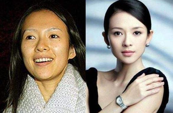 """化妆之后是明星,卸妆之后像""""大妈"""",素颜PK杨颖赢了?"""