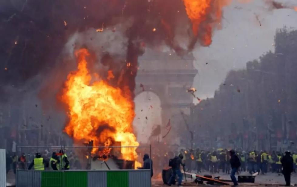"""法国""""悲剧""""了……"""