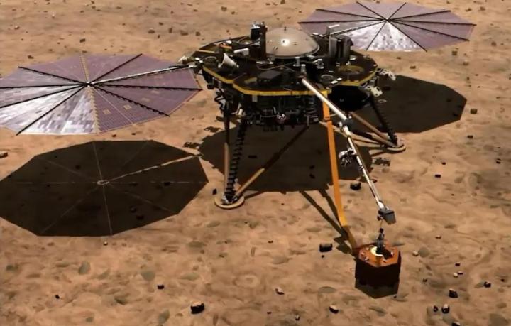 """成功降落火星仅几天 """"洞察号""""发电量已超老前辈"""