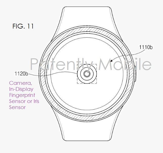 三星新专利:智能手表将整合装备屏幕指纹传感器