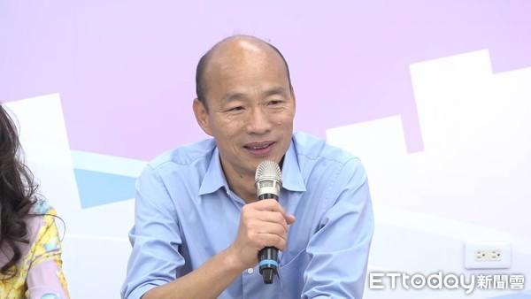 韩国瑜:已派人赴新加坡招商 台南压力会很大