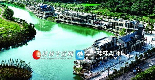 了不起 ! 桂林这个水系工程完成后 将构筑新区未来旅游景观轴线