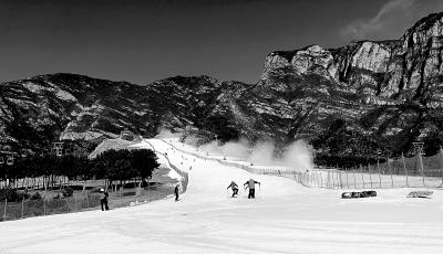 北京延庆进入冰雪旅游季