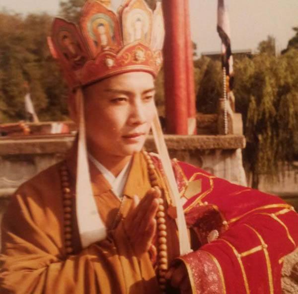 86版《西游记》唐僧的同班同学,多么厉害,两位都是皇帝专业户