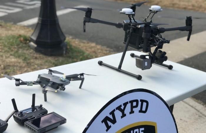 纽约警察局宣布新增14架无人机用于执法工作