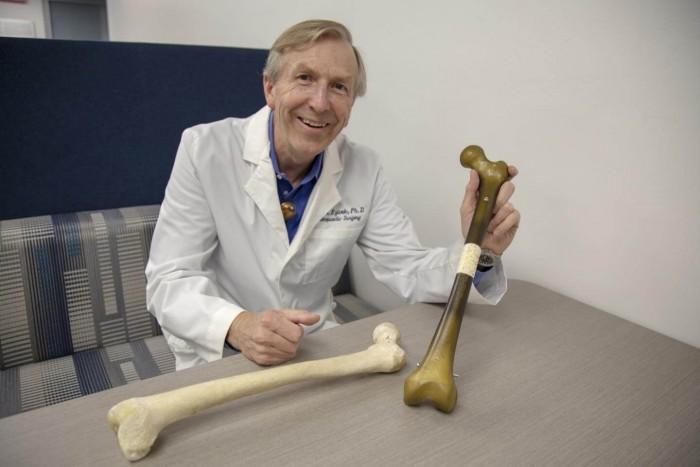 美国研究使用3D打印来帮助再生军事人员受损的骨骼