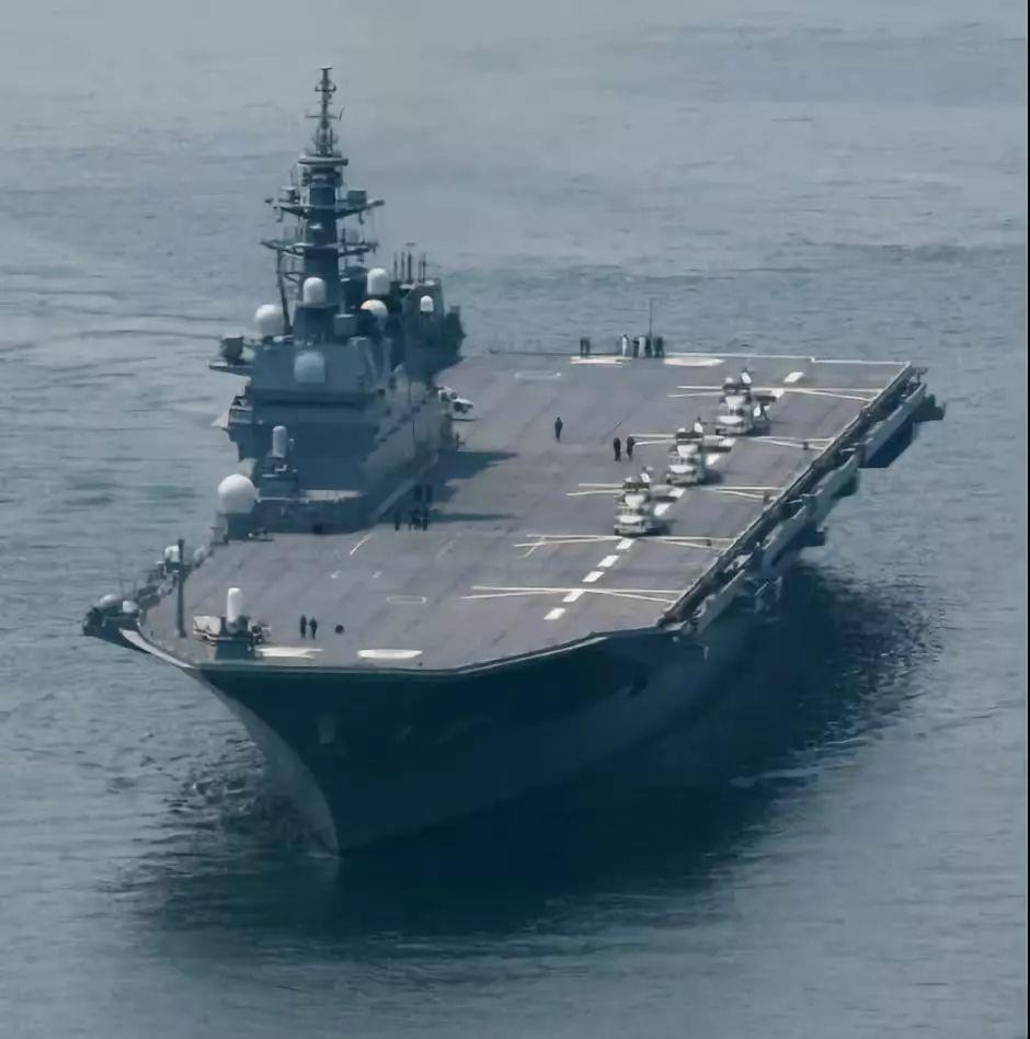 """不敢叫航母?日本给改造后的""""出云号""""取了一个奇葩名字"""