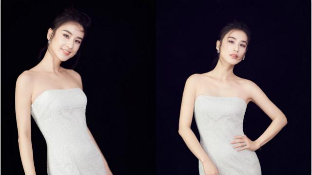 黄圣依抹胸礼服裙凸显曲线美 秀锁骨性感十足