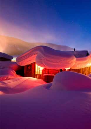 去雪乡感受冬季吧!